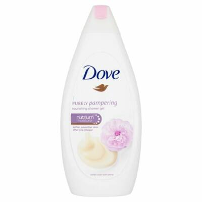 Dove Purely Pampering Bőrtápláló Krémtusfürdő 500ml