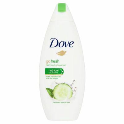 Dove Go Fresh Bőrtápláló Krémtusfürdő Uborka és Zöld Tea 250ml