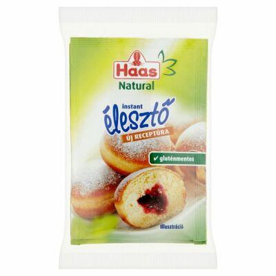 Haas Natural instant élesztő 3x7g