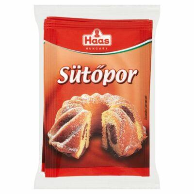 Haas sütőpor 3x12g