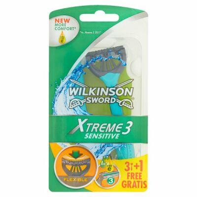 Wilkinson Sword Xtreme3 Sensitive 3 pengés eldobható borotva 4db