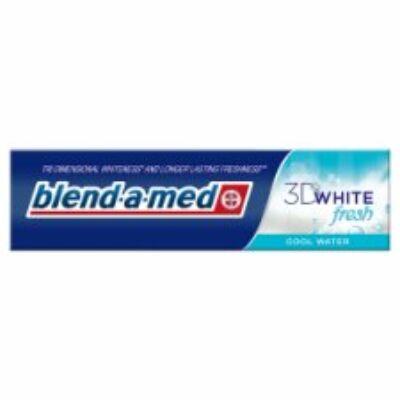 Blend-A-Med 3D White fogkrém cool water 100ml