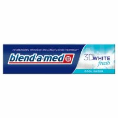 Blend-A-Med 3D White fogkrém cool water 100ml