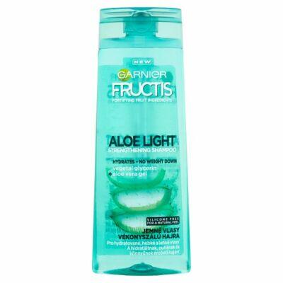 Garnier Fructis Aloe Light hajerősítő sampon vékonyszálú hajra 250ml