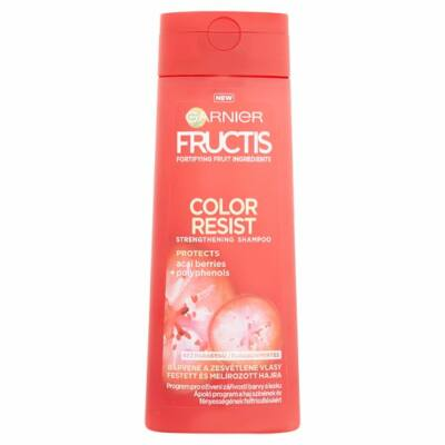 Garnier Fructis Color Resist sampon festett és melírozott hajra 250ml
