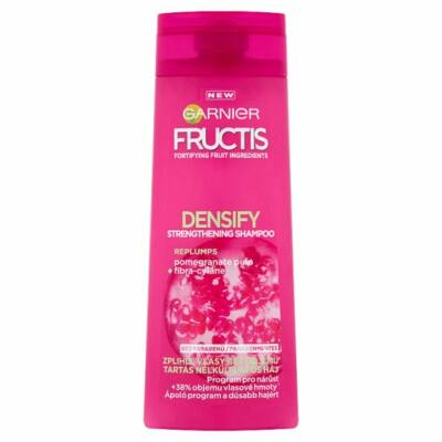 Garnier Fructis Densify Sampon tartás nélkül lapos hajra 250ml