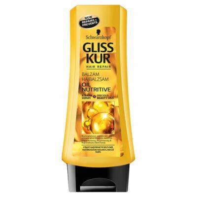 Gliss Kur Hajregeneráló balzsam tápláló olaj 200ml