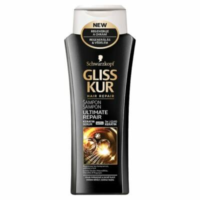 Gliss Kur Hajregeneráló Sampon Ultimate Repair 250ml