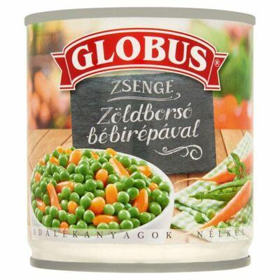 Globus Zsenge Zöldborsó Bébirépával 200g