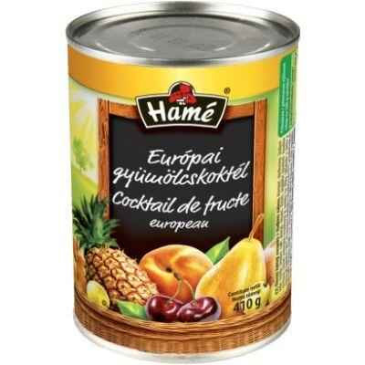Hamé európai gyümölcsköktél 410g