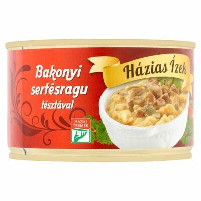 Házias Ízek bakonyi sertésragu tésztával 400g