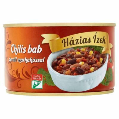 Házias Ízek chilis bab darált marhahússal 400g