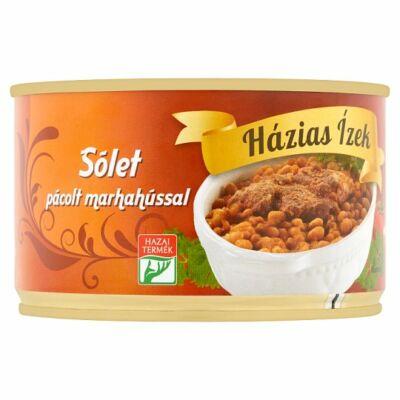 Házias Ízek sólet pácolt marhahússal 400g