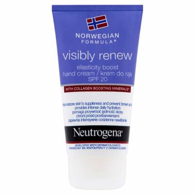Neutrogena norvég formula visibly renew kézkrém SPF 20 75ml