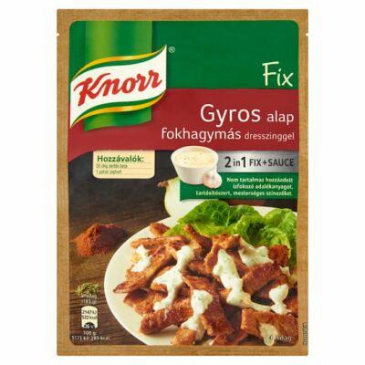 Knorr Fix Gyros alap fokhagymás 40g