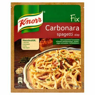 Knorr Fix Carbonara spagetti alap 26g