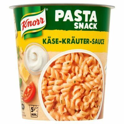 Knorr Pasta snack tészta sajtos-zöldfűszeres szósszal 65g