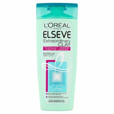 L'Oréal Paris Elseve Extraordinary Clay tisztító sampon gyorsan zsírosodó hajra 250ml