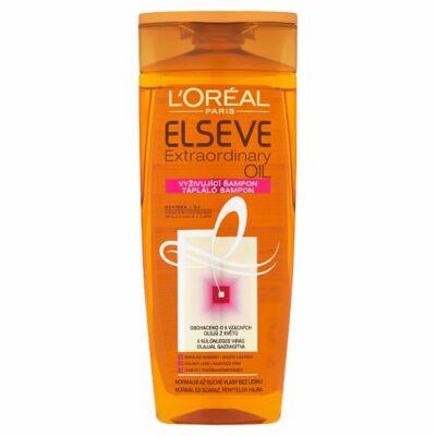 L'Oréal Paris Elseve Extraordinary Oil tápláló sampon normál és száraz fénytelen hajra 250ml