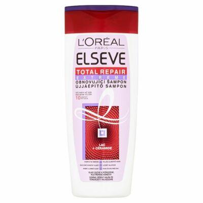 L'Oréal Paris Elseve Total Repair Extreme ujjáépítő sampon száraz sérült hajra 250ml