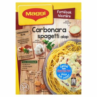 Maggi carbonara spagetti alap 30g