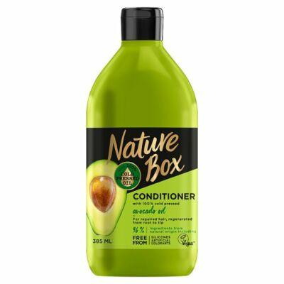 Nature Box balzsam avokádó a regenerált hajért 385ml