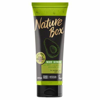Nature Box testradír Avokádó a táplált bőrért 200ml