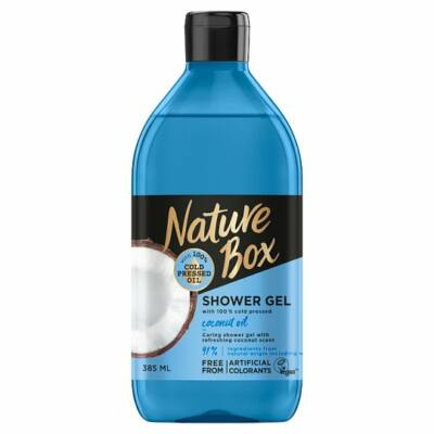Nature Box tusfürdő Kókusz az ápolt bőrért 385ml