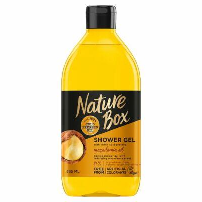 Nature Box tusfürdő Makadám dió érzékeny bőrre 385ml