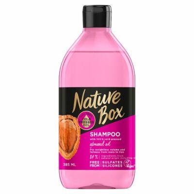 Nature Box sampon Mandula a gyönyörű hullámokért 385ml