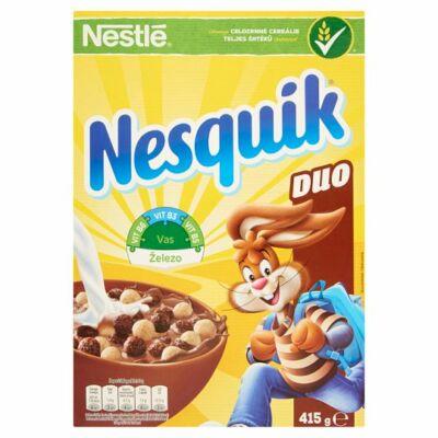 Nestlé Nesquik Duo kakaós és vanília ízű gabonapehely 415g