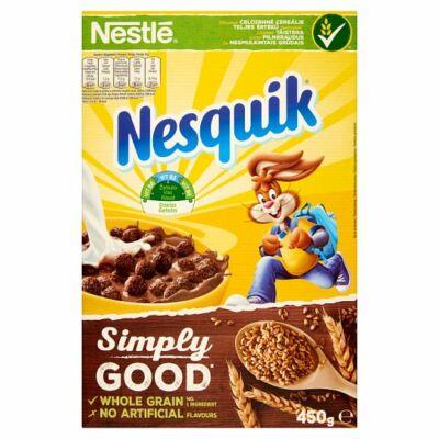 Nestlé Nesquik Kakaós ízű ropogós gabonapehely 450g