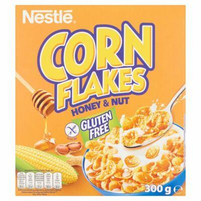 Nestlé Corn Flakes gluténmentes ropogós kukoricapehely mézzel és földimogyoróval és vitaminokkal 300g