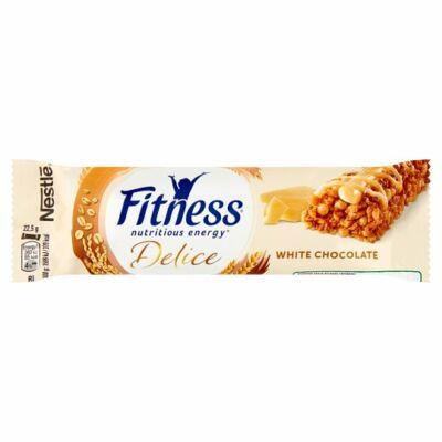 Nestlé Fitness Delice fehér csokoládés gabonapehely szelet 22,5g