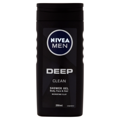Nivea Men Deep Clean tusfürdő 250ml