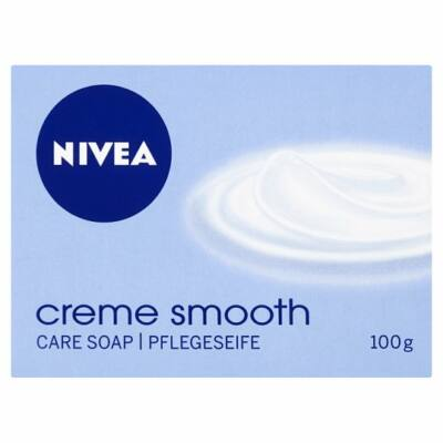 Nivea Creme Smooth krémszappan 100g