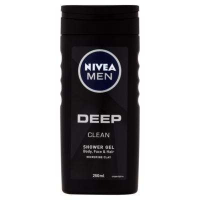 Nivea Men Deep Clean tusfürdő 250ml