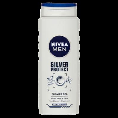 Nivea MEN Silver Protect tusfürdő 500ml