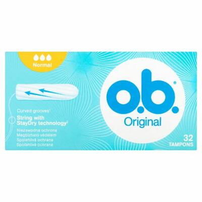 O.B. Original Normal tampon 32db