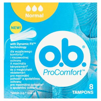 O.B. ProComfort Normal tampon 8db