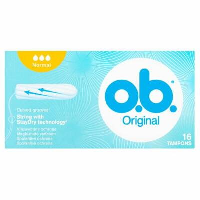 O.B. Original Normal tampon 16db