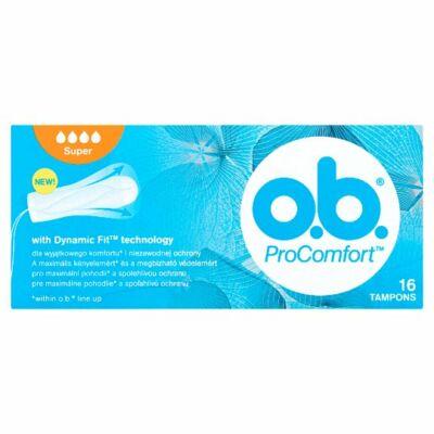 O.B. ProComfort Super tampon 16db