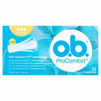 O.B. ProComfort Normal tampon 32db
