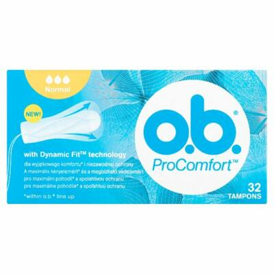 O.B. ProComfort Normal tampon 32db