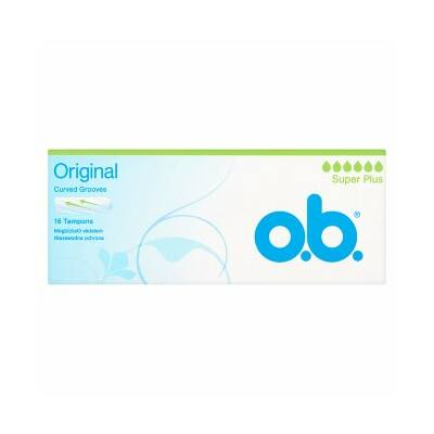 O.B. Original Super Plus tampon 16db