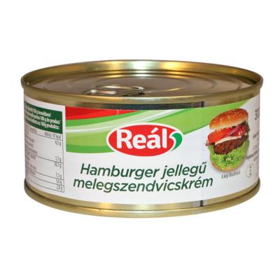 Reál melegszendvicskrém hamburger 300g
