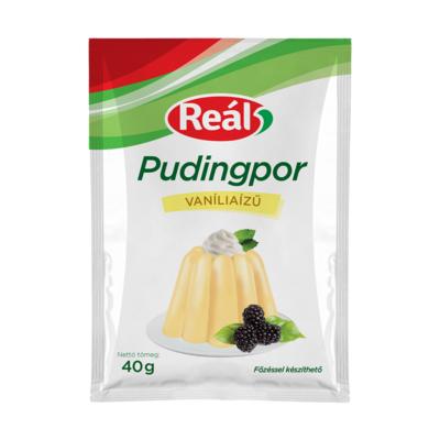 Reál pudingpor vanília 40g