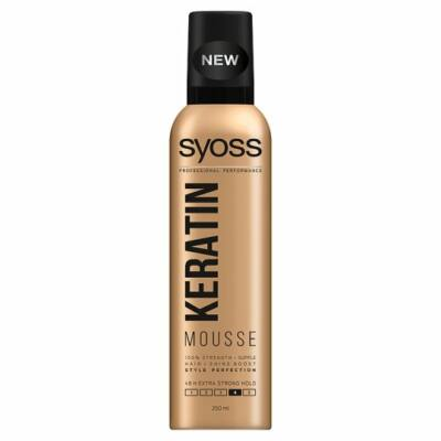 Syoss Keratin Style Perfection extra erős hajhab 250ml