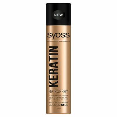 Syoss Keratin Style Perfection extra erős hajlakk 300ml