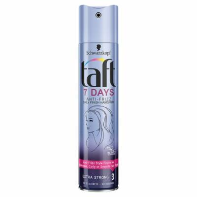 Taft 7Days Anti-Frizz extra erős hajlakk 250ml
